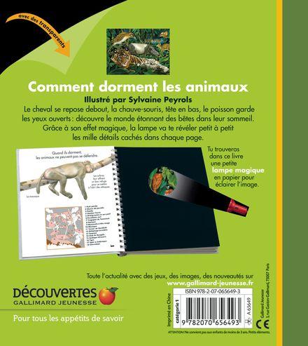 Comment dorment les animaux - Claude Delafosse, Sylvaine Peyrols