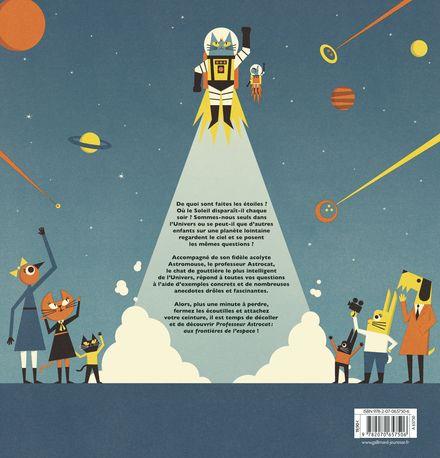 Professeur Astrocat : Aux frontières de l'espace - Ben Newman, Dominic Walliman