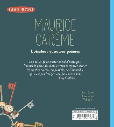 L'oiseleur et autres poèmes - Maurice Carême, Dominique Thibault