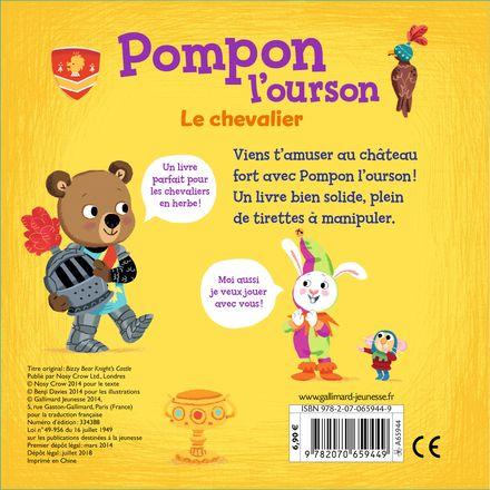 Pompon l'ourson : Le chevalier - Benji Davies