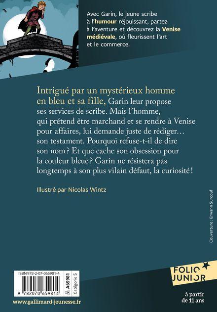 Le secret de l'homme en bleu - Évelyne Brisou-Pellen, Nicolas Wintz
