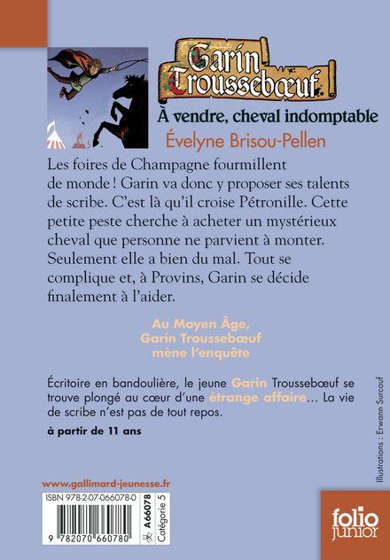 À vendre, cheval indomptable - Évelyne Brisou-Pellen, Nicolas Wintz