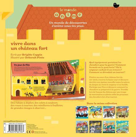Vivre dans un château fort - Brigitte Coppin, Deborah Pinto