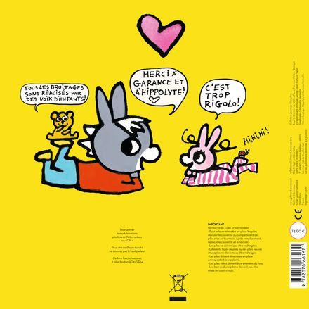 Trotro et Zaza et les petits bruits du corps - Bénédicte Guettier