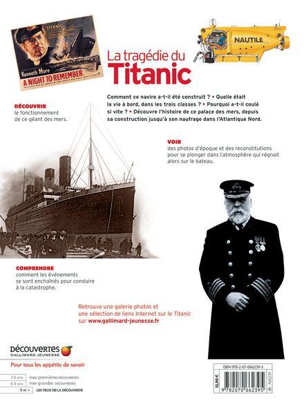 La tragédie du Titanic - Simon Adams