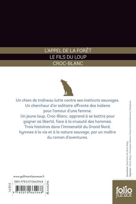 Trois histoires - Olivier Balez, Jack London, Jame's Prunier