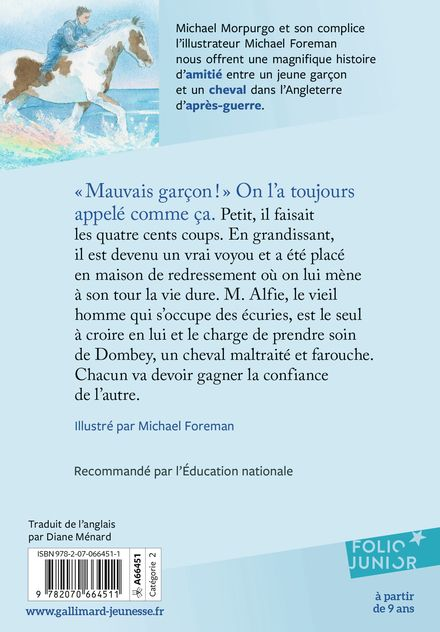 Mauvais garçon - Michael Foreman, Michael Morpurgo
