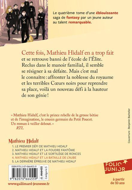 Mathieu Hidalf et la bataille de l'aube - Christophe Mauri
