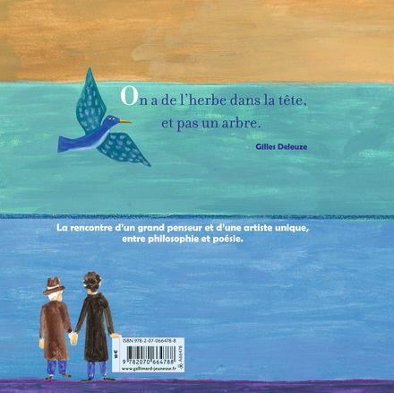 L'oiseau philosophie - Gilles Deleuze, Jacqueline Duhême