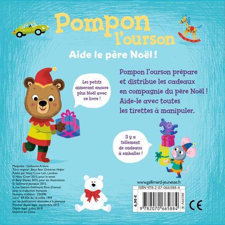 Pompon l'ourson : Aide le Père Noël! - Benji Davies