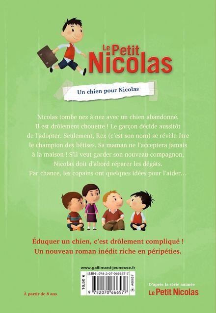 Un chien pour Nicolas - Valérie Latour-Burney