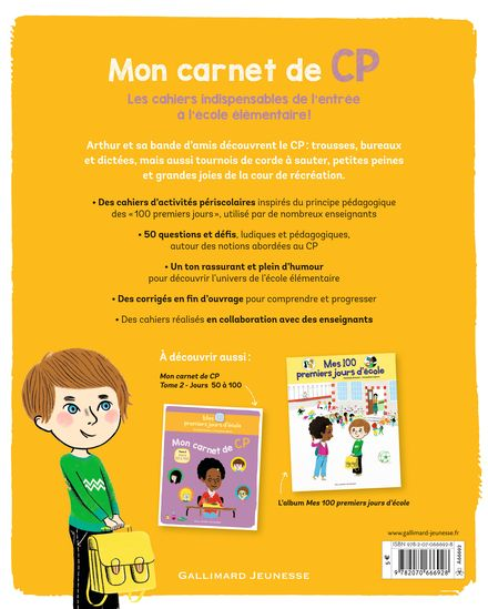 Mon carnet de CP - Mathilde Bréchet, Amandine Laprun