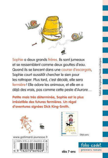 L'escargot de Sophie - Dick King-Smith, Hannah Shaw