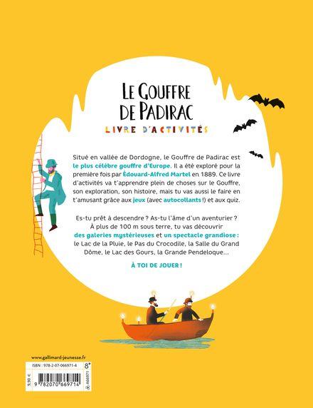 Le gouffre de Padirac - Antonin Faure