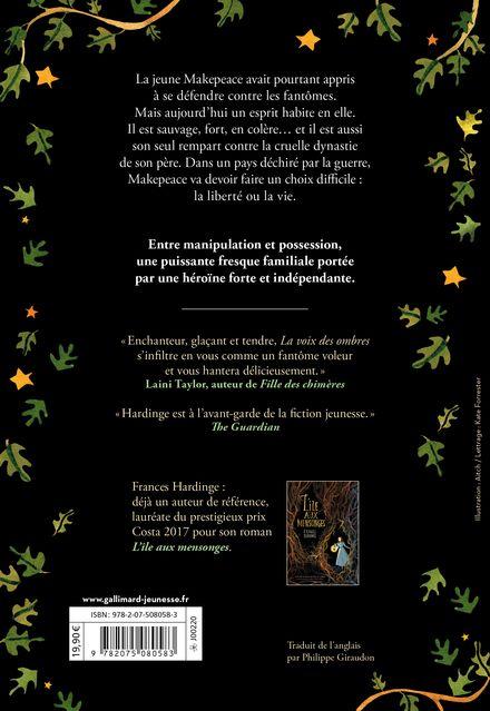 La Voix des ombres - Frances Hardinge