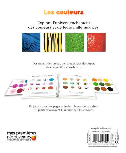 Explore! Les couleurs - Delphine Badreddine,  un collectif d'illustrateurs