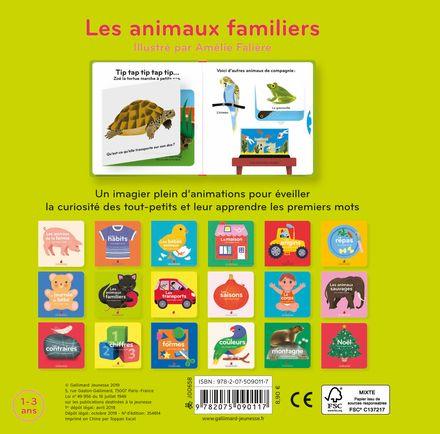 Les animaux familiers - Amélie Falière
