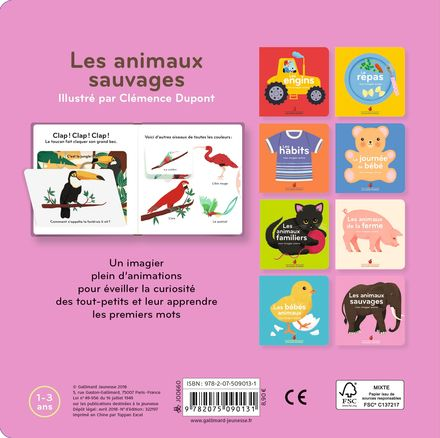 Les animaux sauvages - Clémence Dupont