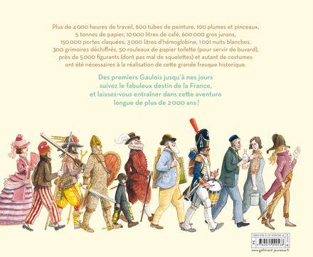 L'histoire de France dessinée - Béatrice Fontanel, Maurice Pommier