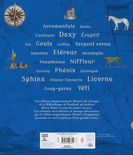 Les Animaux fantastiques - Olivia Lomenech Gill, J.K. Rowling