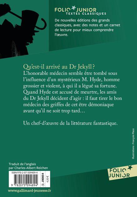 L'étrange cas du Dr Jekyll et de M. Hyde - François Place, Robert Louis Stevenson