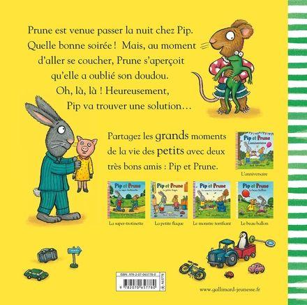 Pip et Prune : J'ai oublié mon doudou! - Axel Scheffler