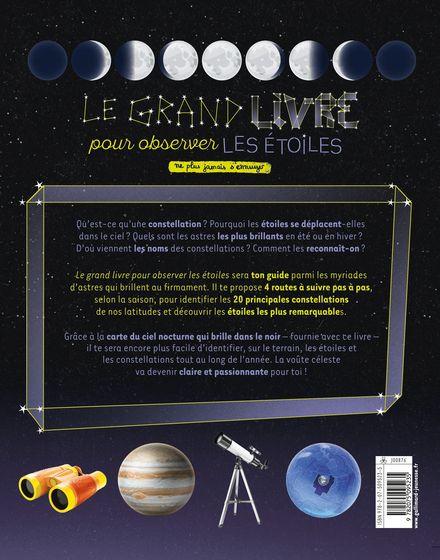 Le grand livre pour observer les étoiles -