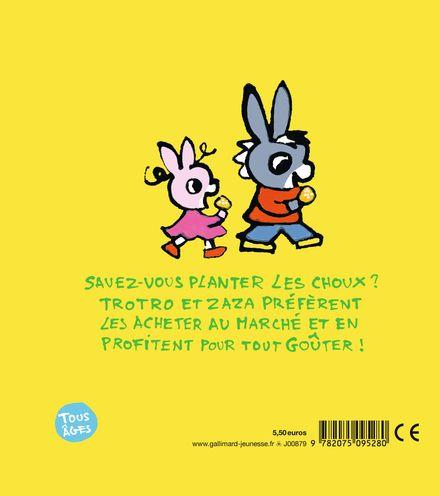 Trotro et Zaza vont au marché - Bénédicte Guettier