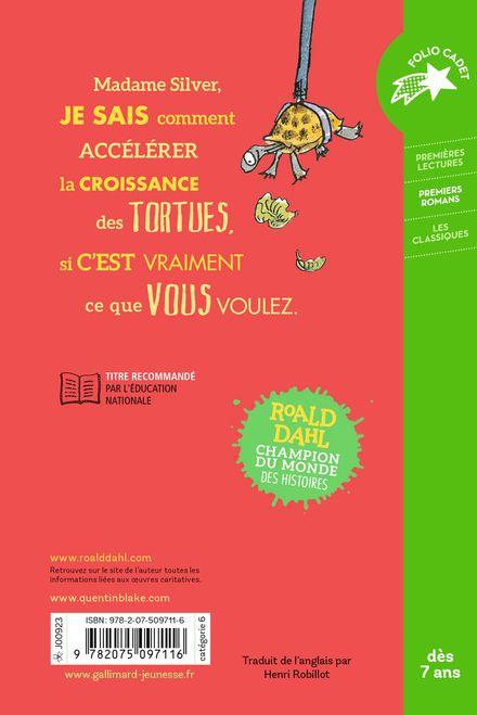 Un amour de tortue - Quentin Blake, Roald Dahl