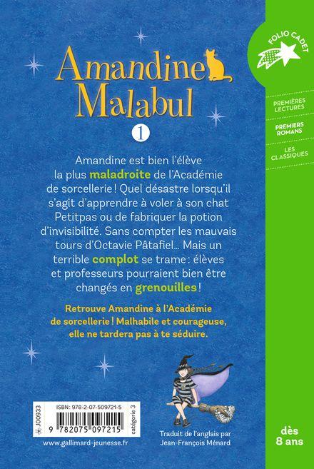 Amandine Malabul, sorcière maladroite - Jill Murphy