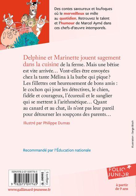 Les contes rouges du chat perché - Marcel Aymé, Philippe Dumas