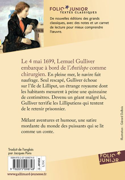 Premier voyage de Gulliver - Jonathan Swift