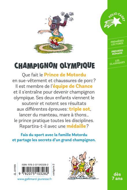 Motordu champignon olympique -  Pef