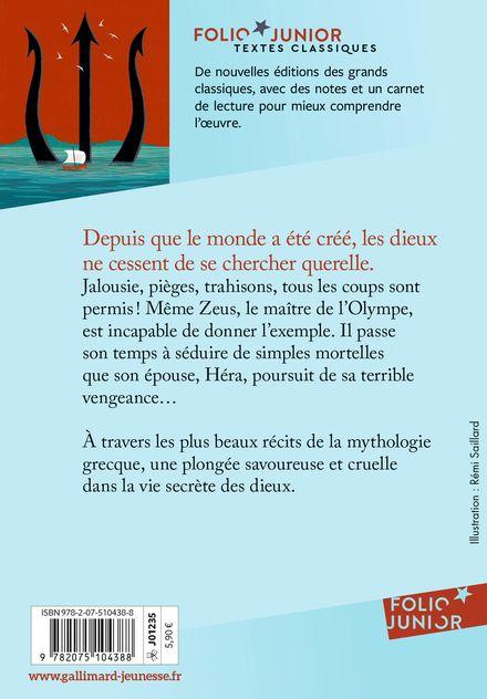 Dieux de la mythologie grecque - Marie-Thérèse Adam