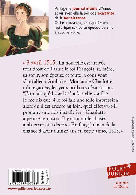 Au temps de François 1er - Brigitte Coppin