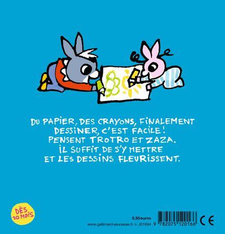 Trotro et Zaza dessinent - Bénédicte Guettier