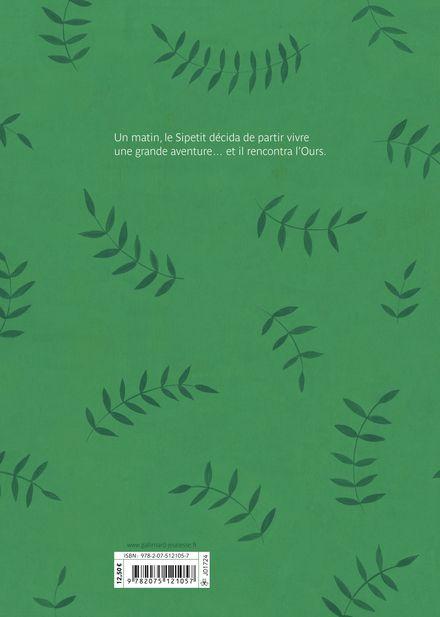 L'Ours et le Sipetit - Chloé Alméras