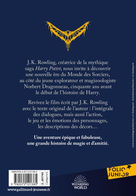 Les animaux fantastiques - J.K. Rowling