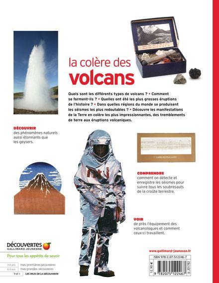 La colère des volcans - Susanna Van Rose