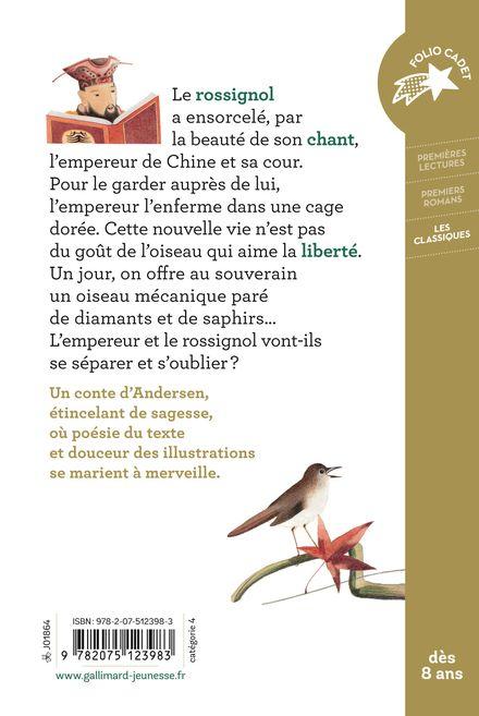 Le rossignol de l'empereur de Chine - Hans Christian Andersen, Georges Lemoine