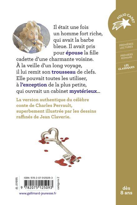 La Barbe-bleue - Jean Claverie, Charles Perrault