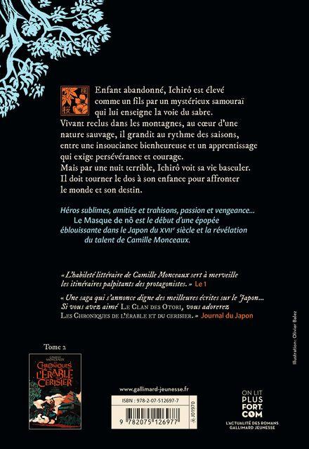 Les chroniques de l'érable et du cerisier - Camille Monceaux