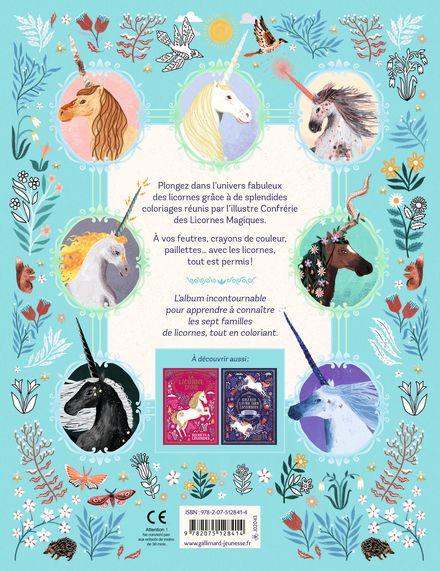 Le grand livre des licornes -  un collectif d'illustrateurs, Selwyn E. Phipps