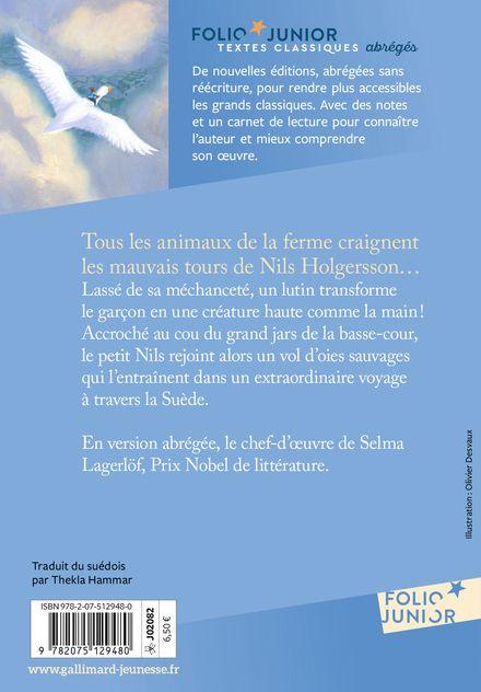 Le merveilleux voyage de Nils Holgersson - Selma Lagerlöf