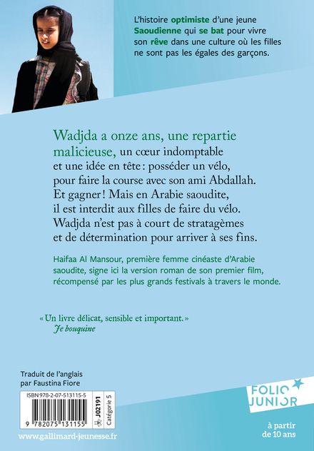 Wadjda et le vélo vert - Haifaa Al Mansour