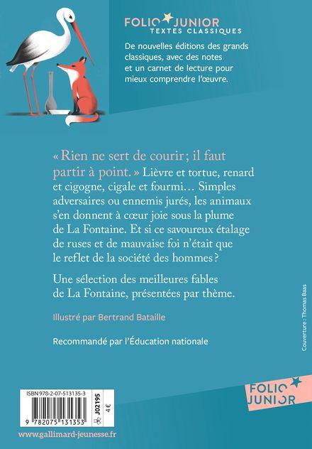 Fables choisies - Bertrand Bataille, Jean de La Fontaine
