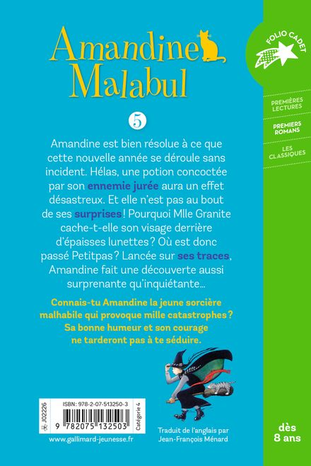 Amandine Malabul, la sorcière et la fourmi - Jill Murphy