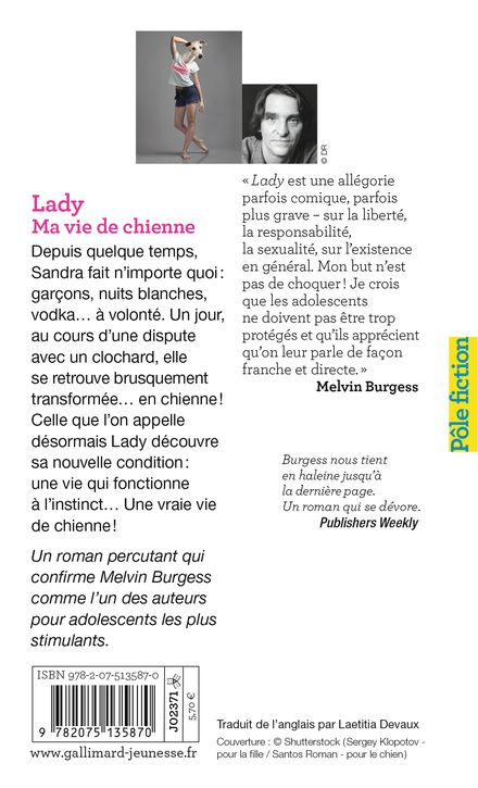 Lady - Melvin Burgess