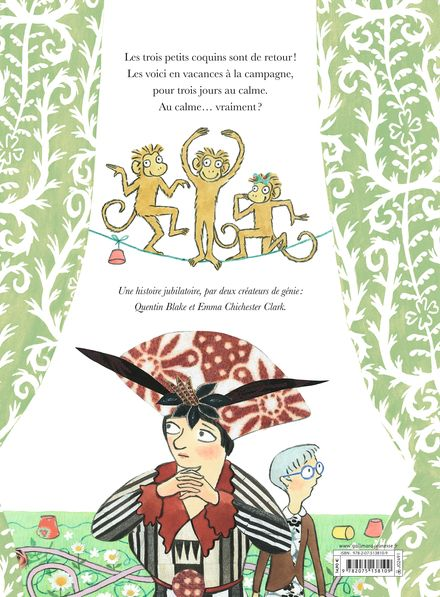 Les trois petits coquins en vacances - Quentin Blake, Emma Chichester Clark