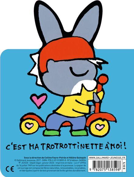 La trottinette de Trotro - Bénédicte Guettier